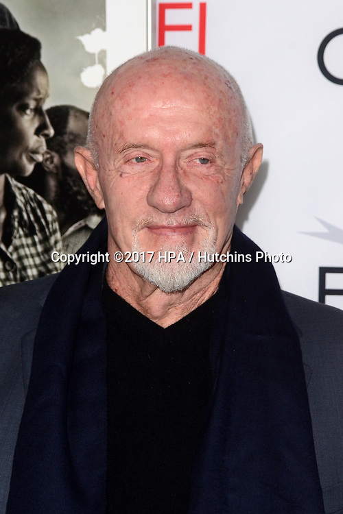 "LOS ANGELES - NOV 9:  Jonathan Banks at the ""Mudbound"" Opening Gala of AFI Fest 2017 at the TCL Chinese Theater IMAX on November 9, 2017 in Los Angeles, CA"