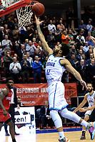 GRONINGEN - Basketbal, Donar - Spirou, Martiniplaza, Europe Cup, seizoen 2019-2020, 27-11-2019,  score Donar speler Carrington Love