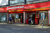 Pictured: A general view of Poundstretcher in Swansea City Centre during the Covid-19 Coronavirus pandemic in Wales, UK, Swansea, Wales, UK. Monday 23 March 2020