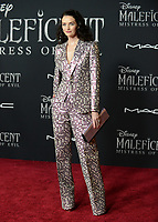 "LOS ANGELES, USA. September 30, 2019: Lydia Hearst-Shaw at the world premiere of ""Maleficent: Mistress of Evil"" at the El Capitan Theatre.<br /> Picture: Jessica Sherman/Featureflash"
