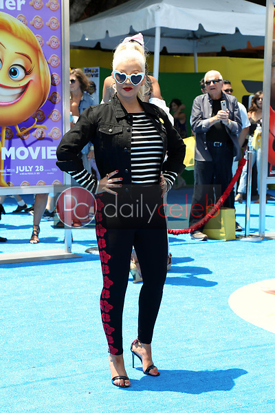 "Christina Aguilera<br /> at the premiere of ""The Emoji Movie,"" Village Theater, Westwood, CA 07-23-17<br /> David Edwards/DailyCeleb.com 818-249-4998"