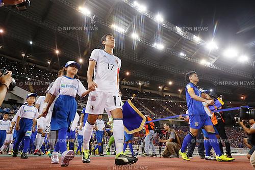 Makoto Hasebe (JPN), SEPTEMBER 6, 2016 - Football / Soccer : FIFA World Cup Russia 2018 Asian Qualifier Final Round Group B match between Thailand 0-2 Japan at Rajamangala National Stadium, Bangkok, Thailand. (Photo by Yusuke Nakanishi/AFLO SPORT)