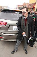 John Leguizamo<br /> arrives in a Kia Sorento at Sundance 2015, Park City, Utah 01-24-15<br /> David Edwards/DailyCeleb.com 818-249-4998