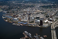 1996 June 28..Redevelopment..Macarthur Center.Downtown North (R-8)..LOOKING NORTHWEST WITH ENTIRE WATERFRONT IN FRONT...NEG#.NRHA#..