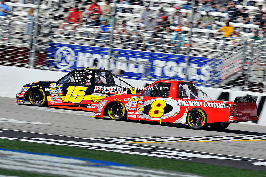 Mar 07, 2009; 2:47:06 PM; Hampton, GA, USA; NASCAR Camping World Truck Series race for the American Commercial Lines 200 at the Atlanta Motor Speedway.  Mandatory Credit: (thesportswire.net)