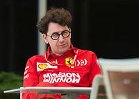 Mattia Binotto (ITA) (SCUDERIA FERRARI) Team principal during the Bahrain Grand Prix at Bahrain International Circuit, Sakhir,  on 31 March 2019. Photo by Vince  Mignott.