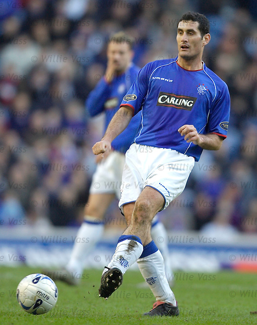 Julien Rodriguez, Rangers.stock season 2005-2006.pic willie vass