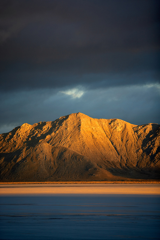 King Lear Peak in South Jackson Mountrain Wilderness in Black Rock Desert National Conservation Area and Wilderness. Nevada