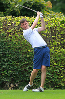 Jason Tobin (Castletroy) on the 14th tee during the AIG Barton Shield Munster Final 2018 at Thurles Golf Club, Thurles, Co. Tipperary on Sunday 19th August 2018.<br /> Picture:  Thos Caffrey / www.golffile.ie<br /> <br /> All photo usage must carry mandatory copyright credit (© Golffile   Thos Caffrey)