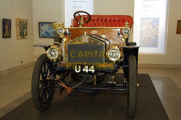 ROLLS ROYCE.The World's Oldest Rolls-Royce - photocall.Bonhams, 101 New Bond Street, London, W1, 10-11am. Opportunity to preview the oldest Rolls-Royce in the world (built 1904) before it goes on sale in December. Expected to fetch up to £1m..October 17th, 2007    .automobile car.CAP/CAS.©Bob Cass/Capital Pictures.