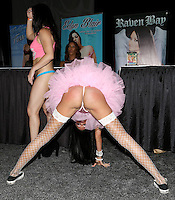 Raven Bay at Exxxotica Atlantic City, NJ, <br /> Saturday April 12, 2014.