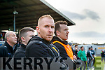 Dr Crokes manager Edmund O Sullivan during the Semi finals of the Kerry Senior GAA Football Championship between Dr Crokes and South Kerry at Fitzgerald Stadium on Sunday.