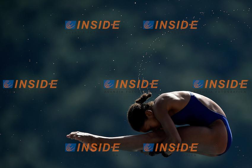 KALONJI Alais FRA <br /> Platform women Preliminary - Piattaforma Donne <br /> Bolzano 01-08-2014 <br /> 20 Fina Diving Grand Prix <br /> Photo Andrea Staccioli/Insidefoto