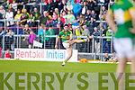 Bryan Sheehan, Kerry in action against \t0\ in the first round of the Munster Football Championship at Fitzgerald Stadium on Sunday.