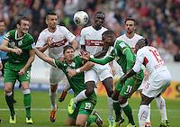 Fussball Bundesliga 2013/2014: VfB Stuttgart - SV Werder Bremen
