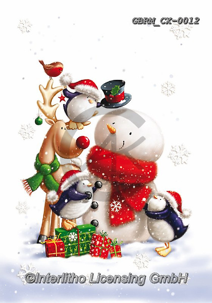 Roger, CHRISTMAS ANIMALS, WEIHNACHTEN TIERE, NAVIDAD ANIMALES, paintings+++++,GBRMCX-0012,#xa#