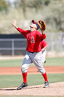 Ryan Chaffee, Los Angeles Angels 2010 minor league spring training..Photo by:  Bill Mitchell/Four Seam Images.