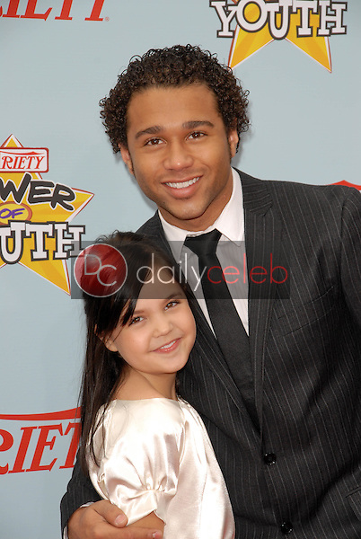 Bailee Madison and Corbin Bleu<br />