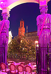 Nederland, Utrecht, 2010,  The city of Utrecht colored pink in the days before the giro d'Italia finished in the city of utrecht..photo: Michael Kooren.
