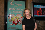 Eve Plumb (Brady Bunch and Days and All My Children) stars in Miss Abigail's guide to Dating, Mating & Marriage on May 28, 2011 at Sofia's Downstairs Theatre, New York City, New York. (Photo by Sue Coflin/Max Photos)