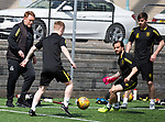 16.05.2018 Livingston FC training and presser: David Hopkin and Keaghan Jacobs