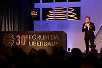 PORTO ALEGRE, RS, 10.04.2016 - DÓRIA-FORUM - João Dória JR., prefeito de São Paulo, realiza palestra inaugural no 30º Fórum da Liberdade, na Pontifícia Universidade Católica do Rio Grande do Sul (PUCRS) em Porto Alegre, nesta segunda-feira.(Foto: Rodrigo Ziebell/Brazil Photo Press)