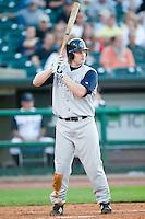 Charlotte first baseman Craig Wilson (37) at bat versus Louisville at Louisville Slugger Field in Louisville, KY, Tuesday, June 5, 2007.
