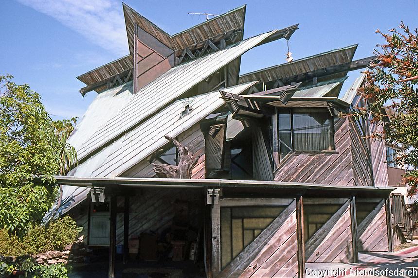 Kendrick Bangs Kellogg: Babcock House, 2695 Bayside Walk, San Diego. 1959.  Photo '87.