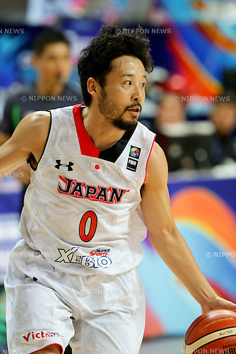 Yuta Tabuse (JPN),<br /> OCTOBER 1, 2015 - Basketball :<br /> 2015 FIBA Asia Championship for Men Quarterfinal match between Japan 81-67 Qatar at Changsha Social Work College's Gymnasium in Changsha, China. (Photo by Yoshio Kato/AFLO)