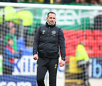 1st March 2020; McDairmid Park, Perth, Perth and Kinross, Scotland; Scottish Premiership Football, St Johnstone versus Celtic; Celtic assistant manager John Kennedy