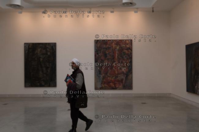 """Venezia - 57 Biennale di Arti Visive. Palazzo delle Esposizioni. Marwan: """"Untitled""""."""