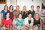 DOUBLE HEN: Brides to be Julie McCarthy, Kilcummin and Patsy Burke, Castlemaine (seated centre) enjoying a joint hen celebration in Bella Bia restaurant, Tralee last Friday, also seated is Paula Stack (lt) and Siobhan Carroll (rt). Standing l-r: Ann McGlin, Kate Fitzgerald, Mary Kearney, Claire Rohan, Trish O'Connor with Phil Boyle.