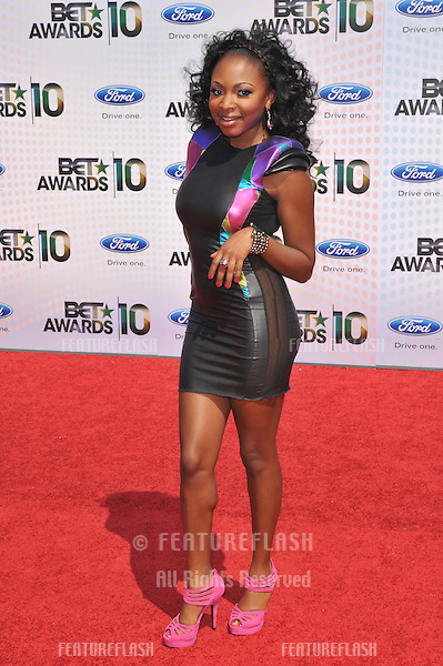 Naturi Naughton at the 2010 BET Awards at the Shrine Auditorium, Los Angeles..June 27, 2010  Los Angeles, CA.Picture: Paul Smith / Featureflash