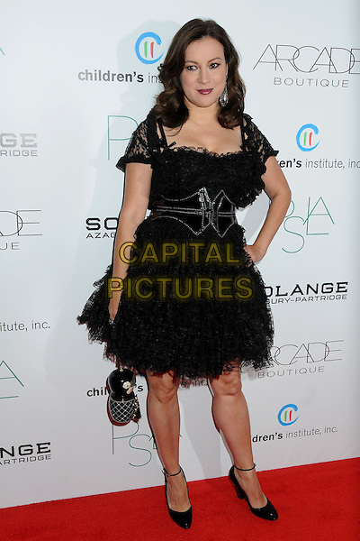 Jennifer Tilly.ARCADE Boutique's 2nd Annual Autumn Party held at The London West Hollywood Hotel, West Hollywood, California, USA..26th October 2011.full length dress hand on hip black lace  .CAP/ADM/BP.©Byron Purvis/AdMedia/Capital Pictures.