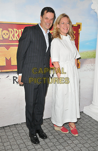 "Tony Gardner and Anna Crilly at the ""Horrible Histories: The Movie - Rotten Romans"" world film premiere, Odeon Luxe Leicester Square, Leicester Square, London, England, UK, on Sunday 07th July 2019.<br /> CAP/CAN<br /> ©CAN/Capital Pictures"