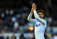Leeds United's Tyler Roberts applauds the fans after the match<br /> <br /> Photographer Alex Dodd/CameraSport<br /> <br /> The EFL Sky Bet Championship - Leeds United v Sheffield Wednesday - Saturday 13th April 2019 - Elland Road - Leeds<br /> <br /> World Copyright © 2019 CameraSport. All rights reserved. 43 Linden Ave. Countesthorpe. Leicester. England. LE8 5PG - Tel: +44 (0) 116 277 4147 - admin@camerasport.com - www.camerasport.com