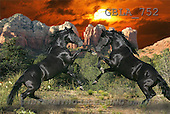 Bob, ANIMALS, collage, horses, photos(GBLA752,#A#) Pferde, caballos