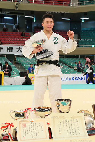 Hisayoshi Harasawa, APRIL 29, 2015 - Judo : 2015 All Japan Judo Championships Award ceremony at Nippon Budokan, Tokyo, Japan. <br /> (Photo by Yohei Osada/AFLO SPORT)