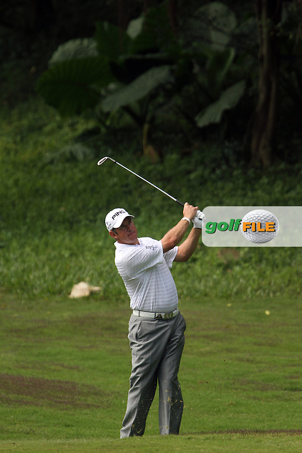 Lee Westwood (ENG) on the 4th on Day 3 of the 2012 HSBC Champions, Mission Hills Golf Club, Shenzhen, China. 3/11/12..(Photo www.golffile.ie)