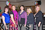 CHRISTMAS FUN: Just some of the K.E.S., Tralee enjoying their t their Christmas party at the Strand Road clubhouse, Tralee on Saturday l-r: Assumpta Nolan, Nora Kissane, Ita Lane, Berine Walsh and Catherine Dineen..