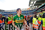 David Moran. Kerry players celebrate their victory over Donegal in the All Ireland Senior Football Final in Croke Park Dublin on Sunday 21st September 2014.