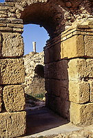Carthage, Tunisia.  Roman Ruins, Antonin Baths, 2nd. Century A.D.