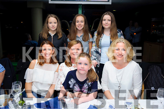 Enjoying a great night out at The Crotta O'Neill's fundraiser night at The Kingdom Greyhound Stadium on Saturday evening were (Front l-r) Susan Hickey, Mary Corkery, Leah Cronin, Caroline Culhane and (Back l-r) Megan Hickey, Emma Culhane and Sarah Corkery.