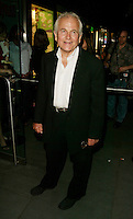 Sir Ian Holm arriving at &quot;The Emperor's New Clothes&quot; premiere at the French Institute/Alliance Francaise in New York City. June 10, 2002. <br /> Photo: Evan Agostini/PictureGroup
