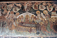 BG61209.JPG BULGARIA, BLACK SEA COAST, NESSEBAR, CHURCH OF ST STEPHAN, 10TH CENTURY, FRESCOS