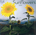 Published photography by Larry Angier..Sunflowers 2009 Mini Calendar cover, Browntrout Publishers