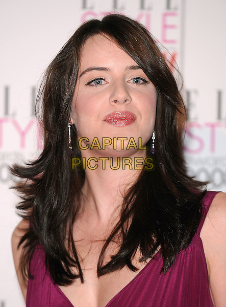 MICHELLE RYAN.attending the Elle Style Awards 2008, The Westway, London, England,.12th February 2008..portrait headshot .CAP/BEL.?Tom Belcher/Capital Pictures