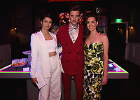 """LOS ANGELES - JUNE 13:  Amber Midthunder, Dan Stevens and Aubrey Plaza attend the party at Boulevard3 following the Season 3 Los Angeles Premiere Event for FX's """"Legion"""" on June 13, 2019 in Los Angeles, California. (Photo by Frank Micelotta/FX/PictureGroup)"""