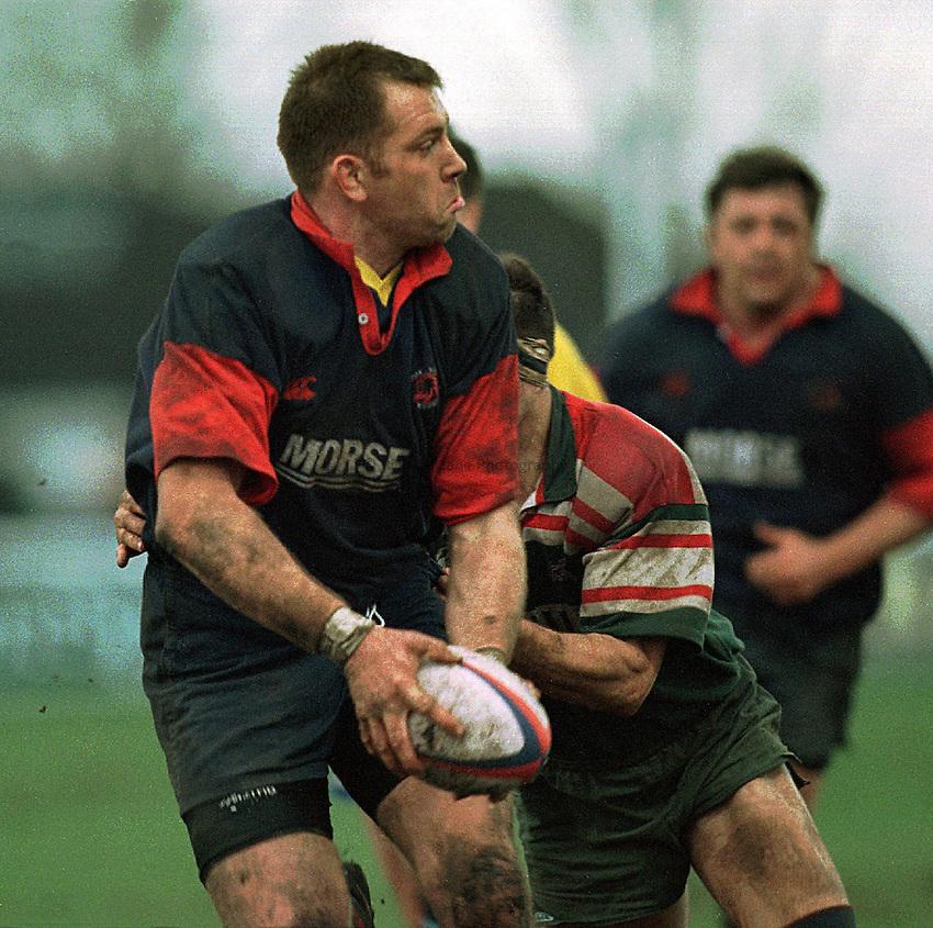 Photo: Ken Brown.8.3.98 London Scottish v West Hartlepool.Mick Watson.