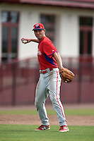 Philadelphia Phillies Mitch Walding (16) during a minor league spring training intrasquad game on March 27, 2015 at the Carpenter Complex in Clearwater, Florida.  (Mike Janes/Four Seam Images)